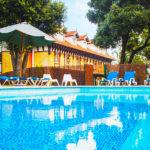 Hotel Torres de Somo: Hotel en Santander Piscina al Aire Libre