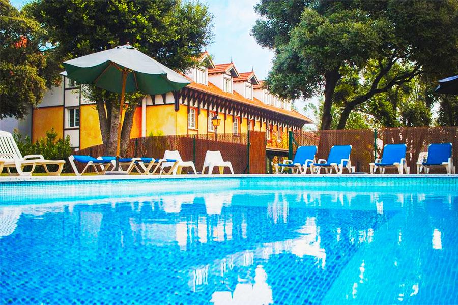 Hotel con piscina Santander Hotel Torres de Somo