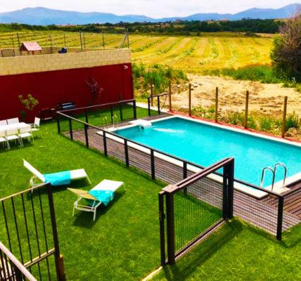 Hotel con piscina Segovia Miradiez