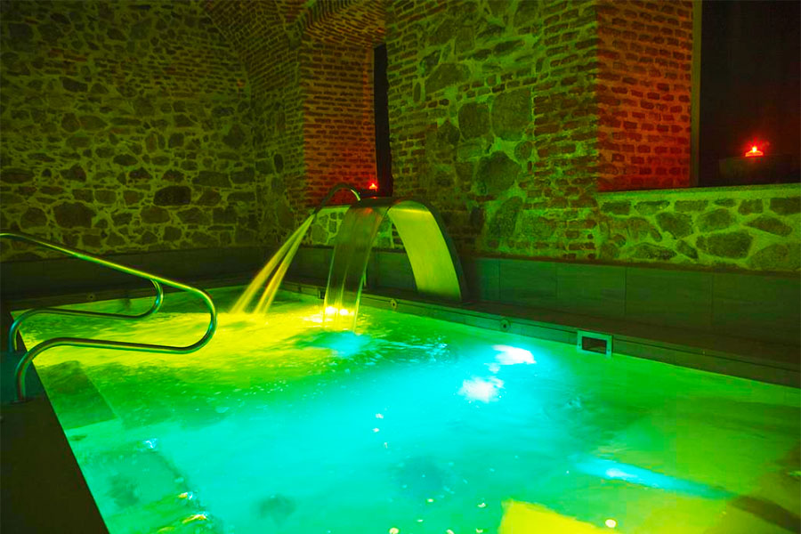 Hotel con piscina Segovia Parador de La Granja