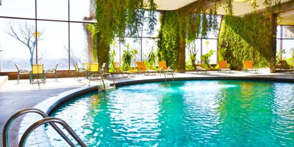 Hotel con piscina segovia Parador de Segovia