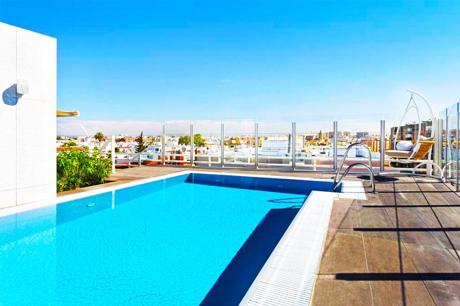 hotel con piscina sevilla Catalonia Santa Justa