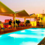 Hotel Novotel Sevilla: Hotel en Sevilla Piscina Exterior en la Azotea