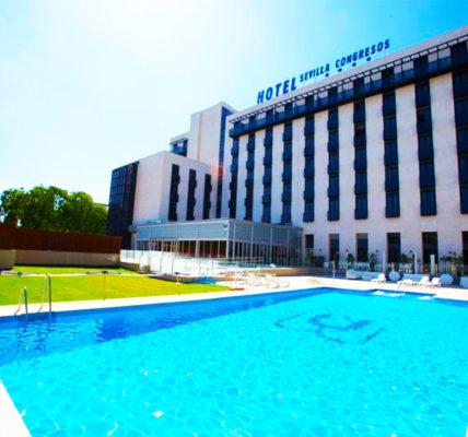 hotel con piscina sevilla M A Hotel Sevilla Congresos