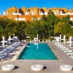 Hotel Melia Lebreros: Hotel en Sevilla Piscina Exterior al Aire Libre