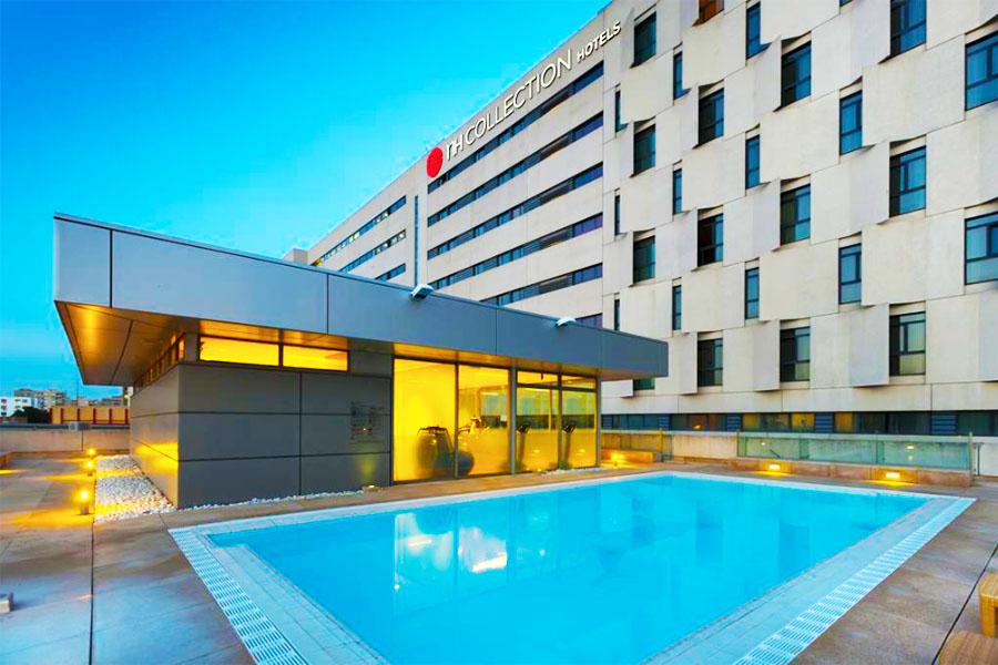 hotel con piscina sevilla NH Collection Sevilla