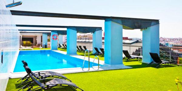 hotel con piscina sevilla NH Sevilla Plaza de Armas