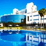 Hotel Silken Al-Andalus Palace: Hotel en Sevilla Piscina al Aire Libre