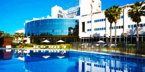 hotel con piscina sevilla Silken Al Andalus Palace