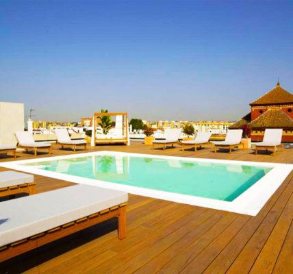 hotel con piscina sevilla Zenit Sevilla