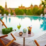 Hotel Melia Sevilla: Hotel en Sevilla Piscina Exterior al Aire Libre