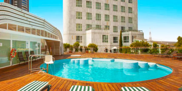 hotel con piscina valencia Sercotel Sorolla Palace