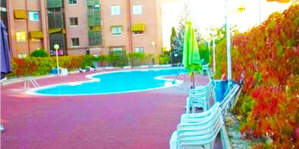 Hotel con piscina Valladolid Confortable y Luminoso Apartamento