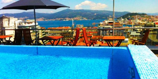 Hotel con piscina Vigo Hotel Axis Vigo