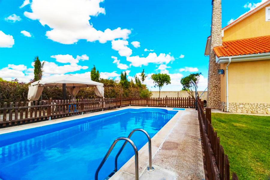 Chalet con piscina Zamora Finca Alonso