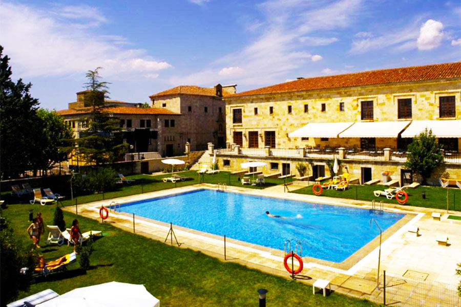 Hotel con piscina Zamora Parador de Zamora