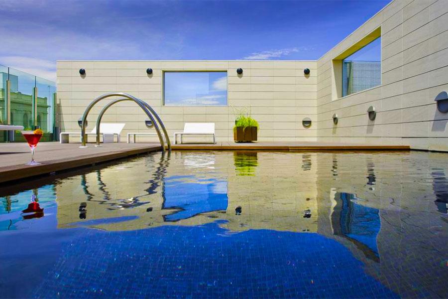 Hotel con piscina Zaragoza Hotel Alfonso