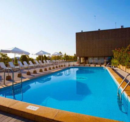 Hotel con piscina Zaragoza Hotel Palafox