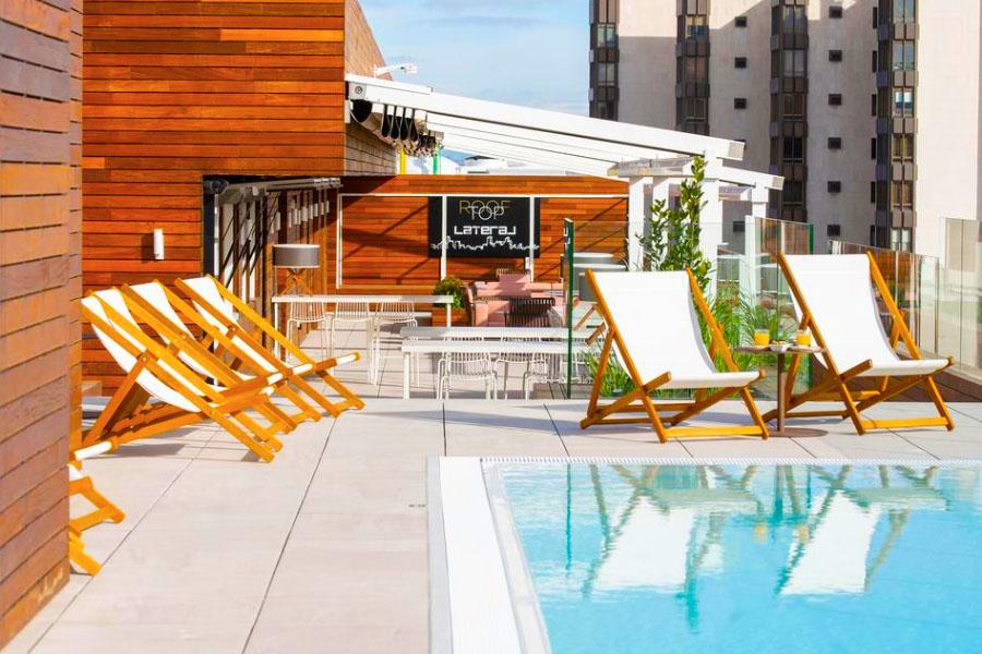Hotel con piscina Zaragoza INNSIDE by Melia Zaragoza