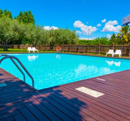 Hotel con piscina Zaragoza Las Ventas