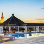 Hotel Fernando III: Hotel en Sevilla Piscina en Azotea con Vistas a Catedral de Sevilla