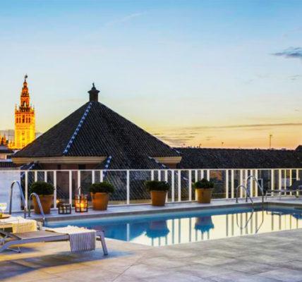hotel sevilla con piscina Hotel Fernando III