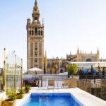 EME Catedral Hotel: Hotel en Sevilla Piscina en la Azotea