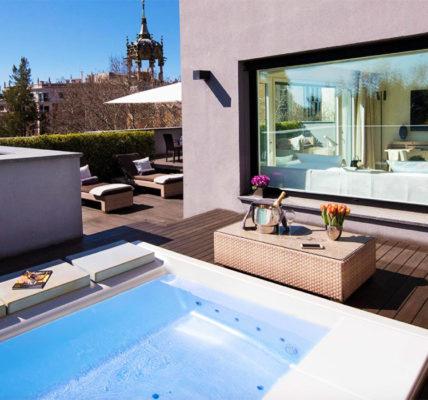ABaC Hotel Barcelona GL Monumento piscina privada