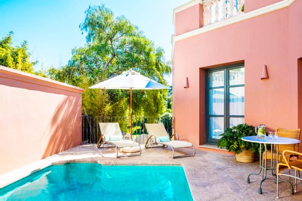 Anantara Villa Padierna Palace Benahavis Marbella Resort piscina privada habitacion