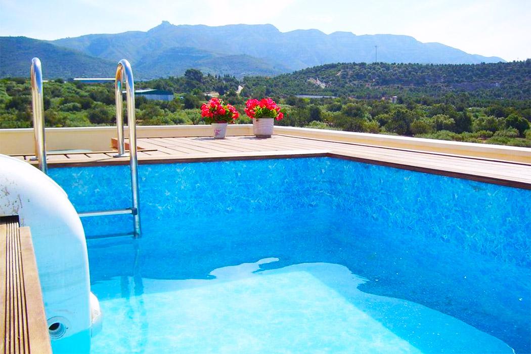 Apartaments Las Carolinas Tarragona piscina privada habitacion