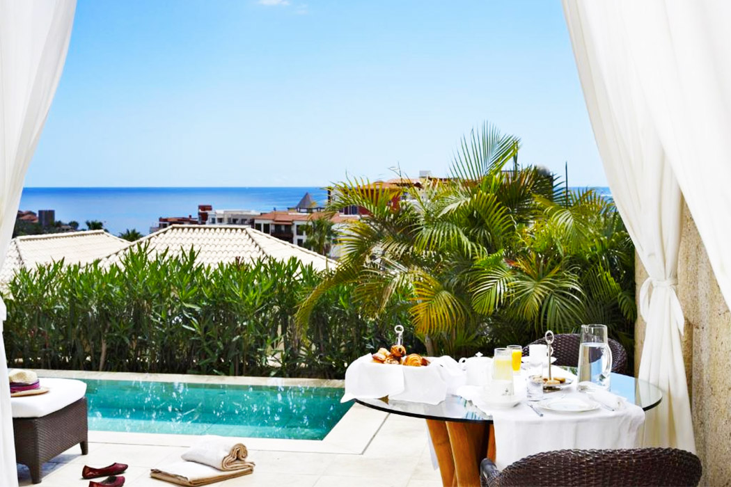 Bahia del Duque villa la palmera piscina privada habitacion