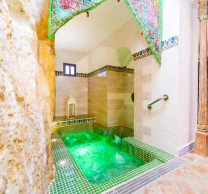 Casa Spa La Agueda y Robledo piscina privada habitacion sevilla