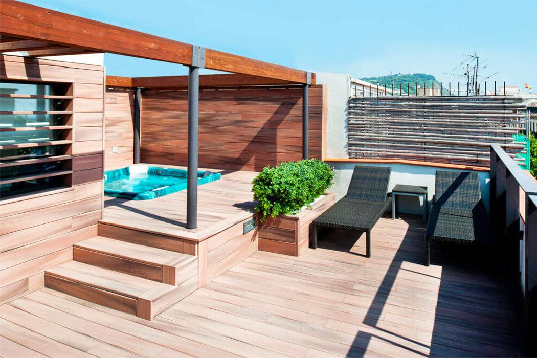 Catalonia Port barcelona piscina privada