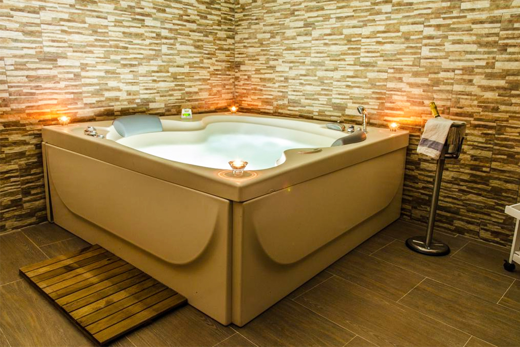 El Rincon de Burujon piscina privada habitacion
