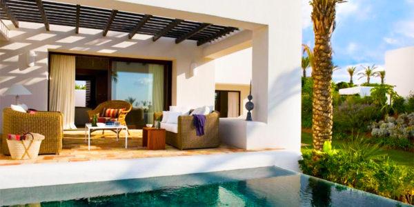 Finca Cortesin Hotel Golf Spa piscina privada habitacion