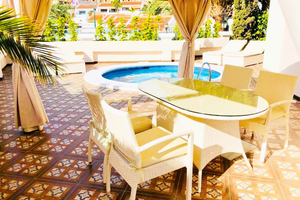 Flamingo Suites Boutique Hotel piscina privada habitacion tenerife
