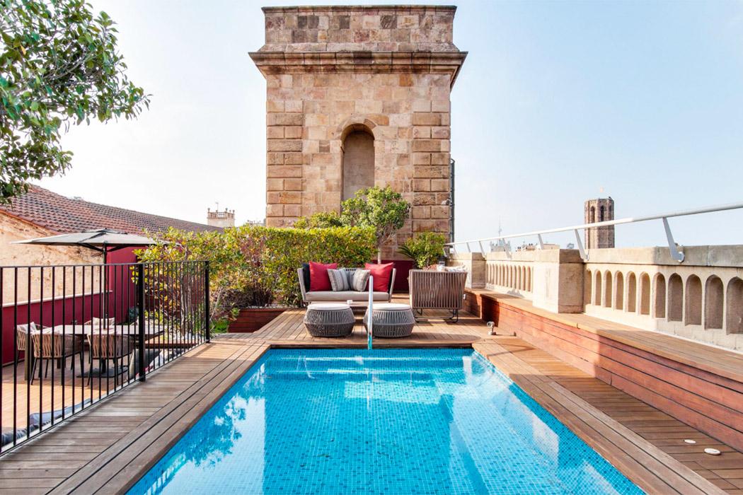 Hotel 1898 barcelona piscina privada terraza