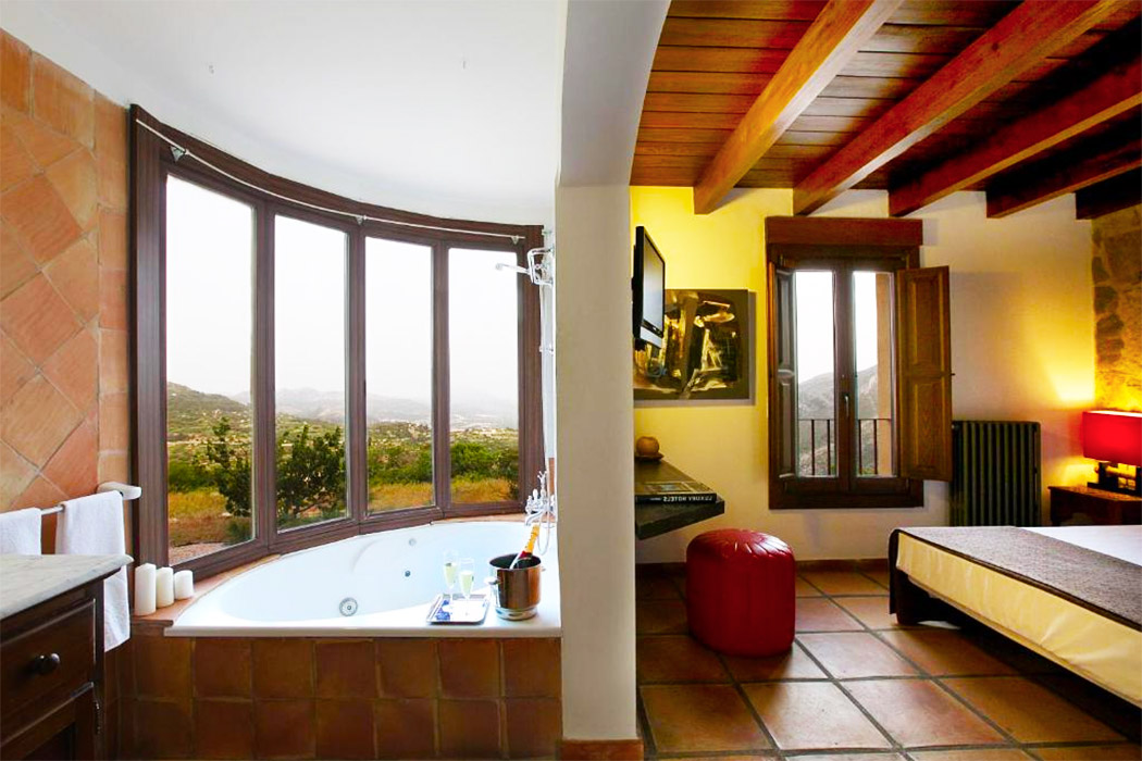 Hotel Alahuar piscina privada habitacion