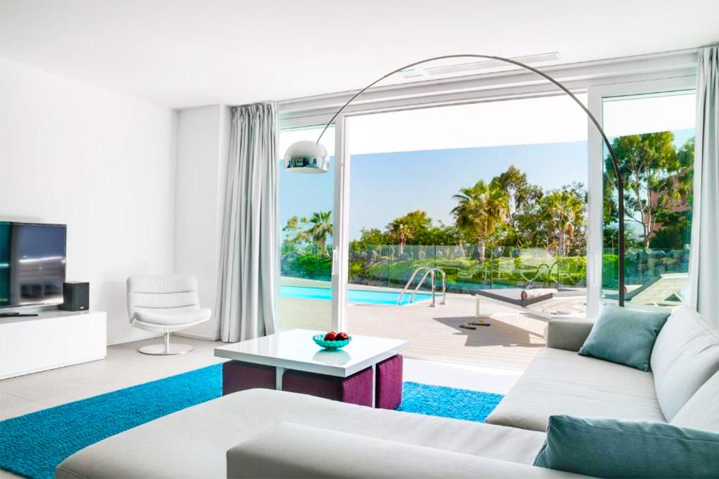 Hotel Baobab Suites tenerife piscina privada habitacion