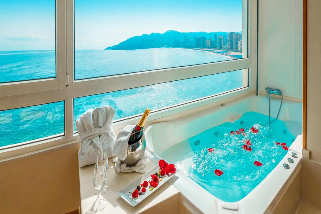 Hotel Boutique Villa Venecia piscina privada habitacion alicante