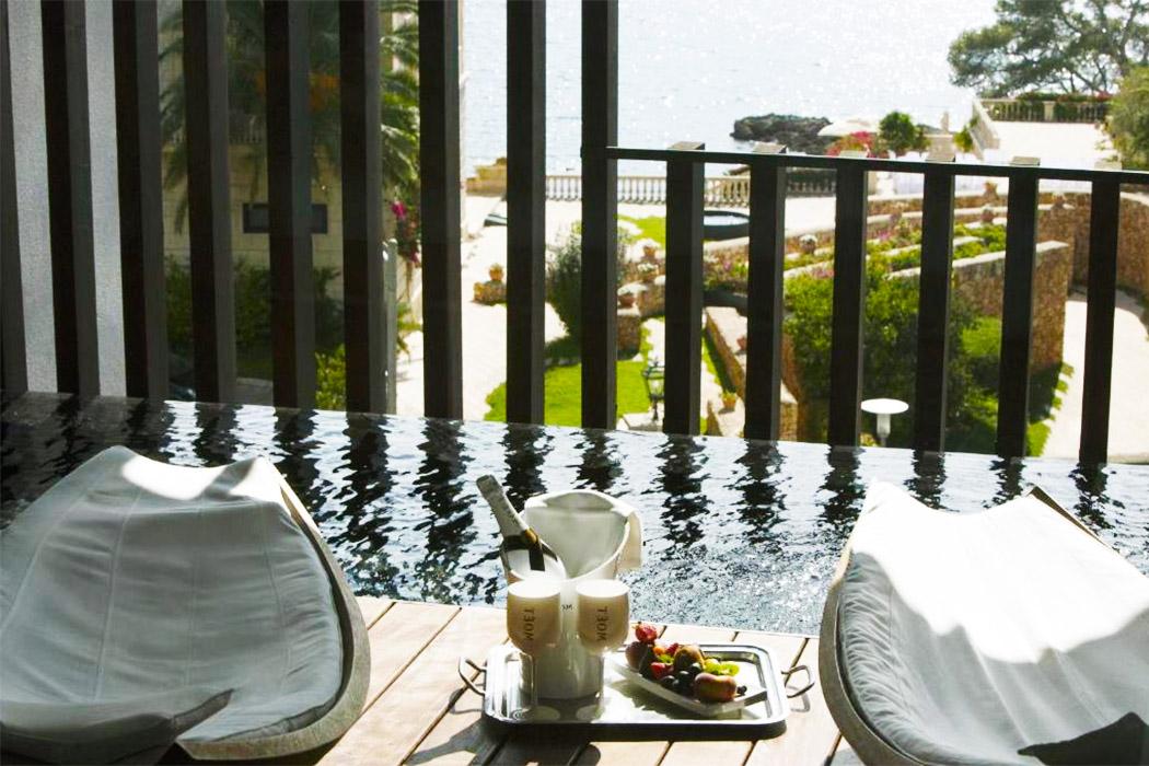 Hotel Hospes Maricel Spa piscina privada habitacion