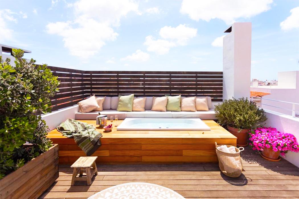 Hotel Jardi de Ses Bruixes piscina privada habitacion menorca