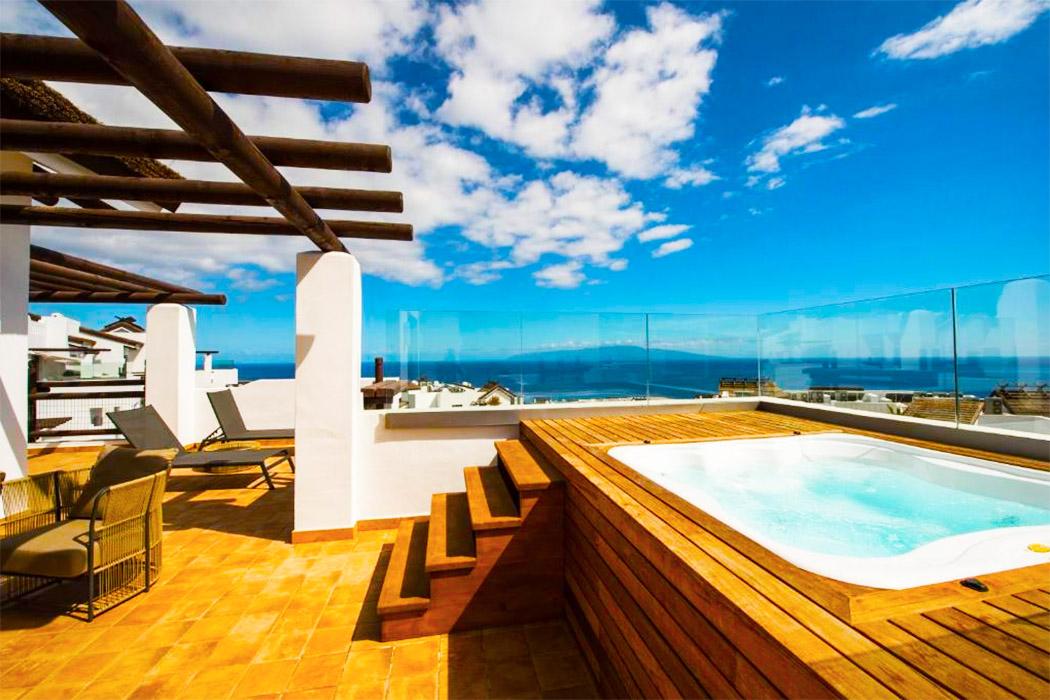 Hotel Las Terrazas De Abama Tenerife piscina privada habitacion