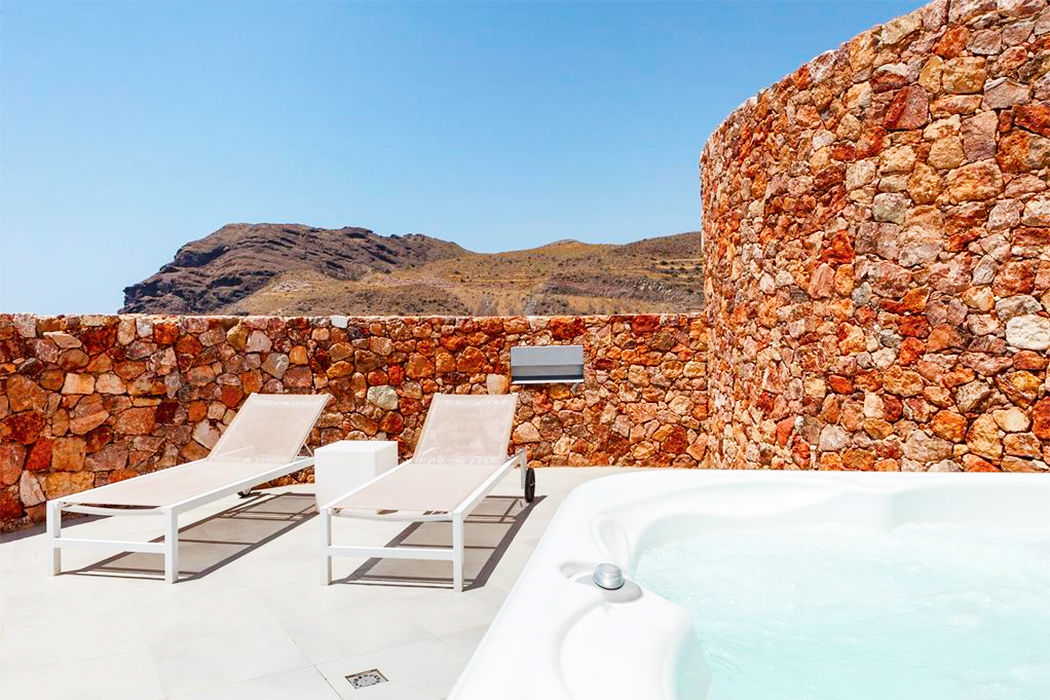 Hotel Spa Calagrande Cabo de Gata piscina privada habitacion almeria