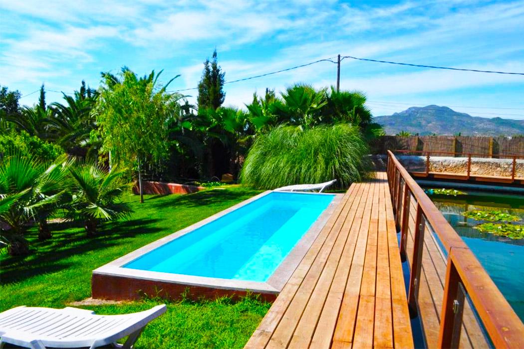 Hotel Tancat de Codorniu Tarragona piscina privada habitacion