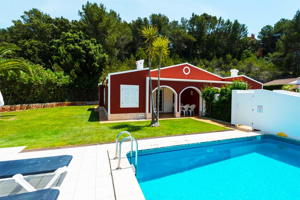 Hotel Villas Galdana Palms piscina privada habitacion menorca
