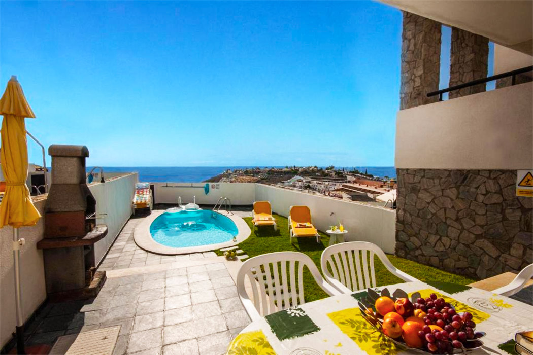 Mirador del Mar Villas piscina privada habitacion gran canaria
