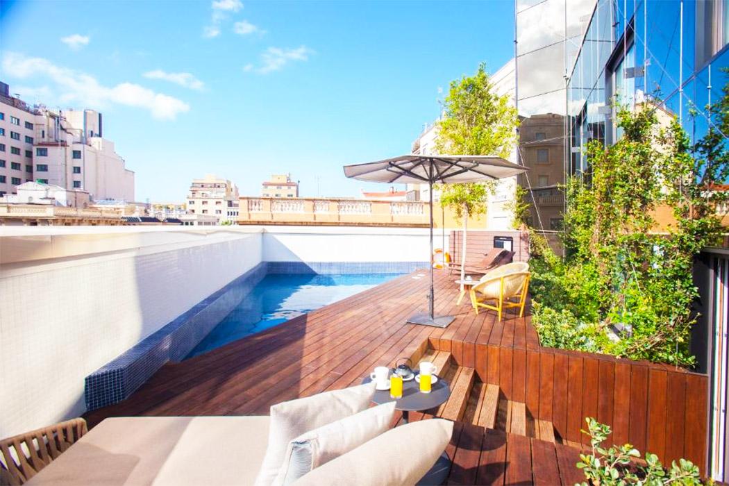 OD Barcelona piscina privada habitacion