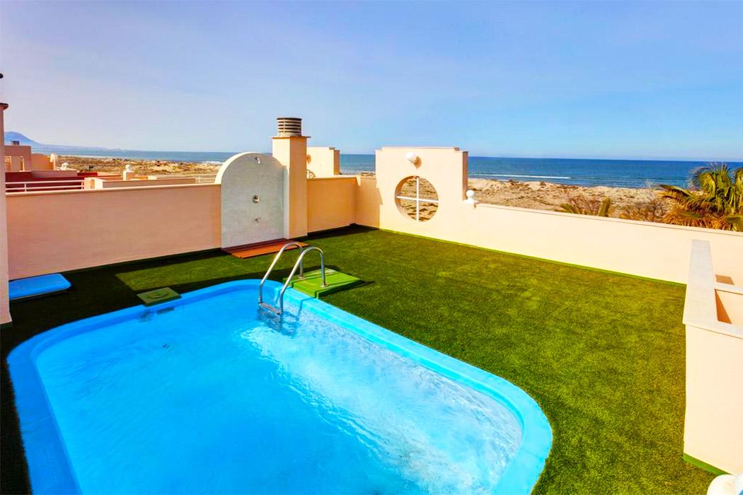 Oliva Nova Beach Golf Hotel piscina privada habitacion