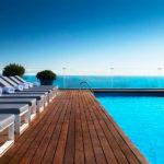 AC Hotel Barcelona Forum: Hotel en Barcelona Piscina Vistas al Mar